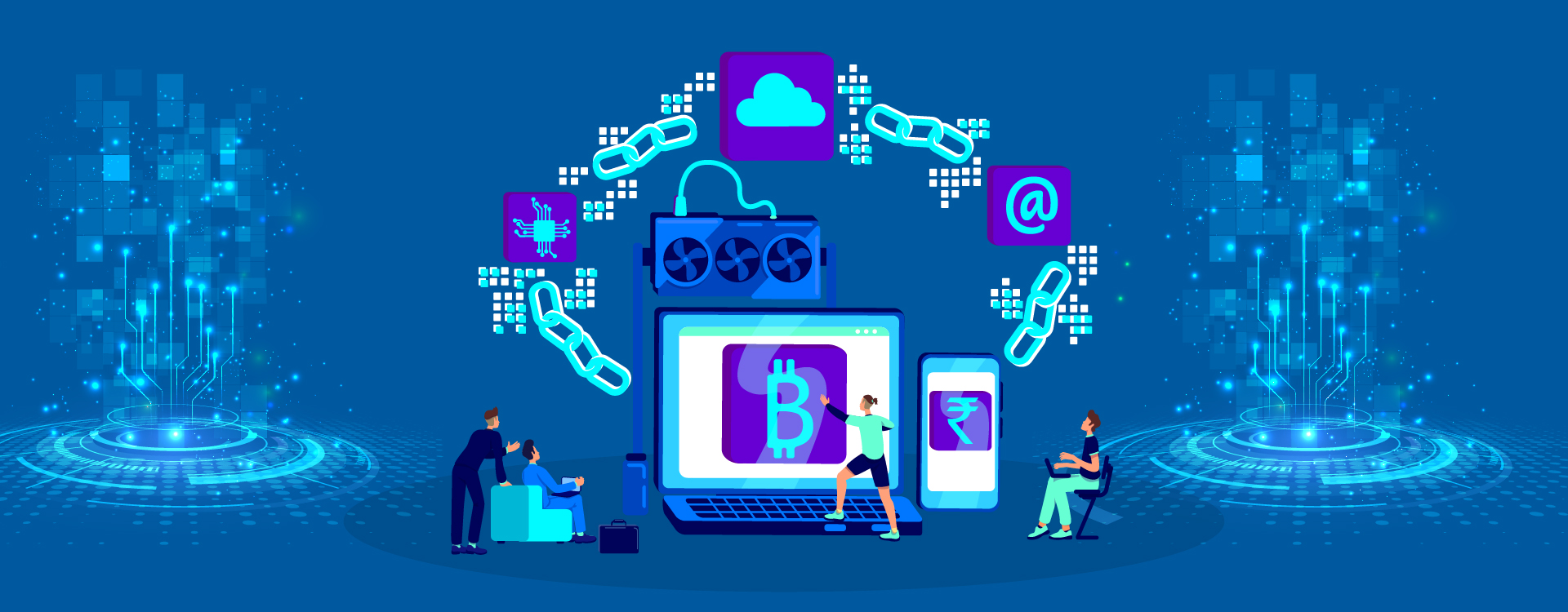 Blockchain and Cryptocurrency can work together.