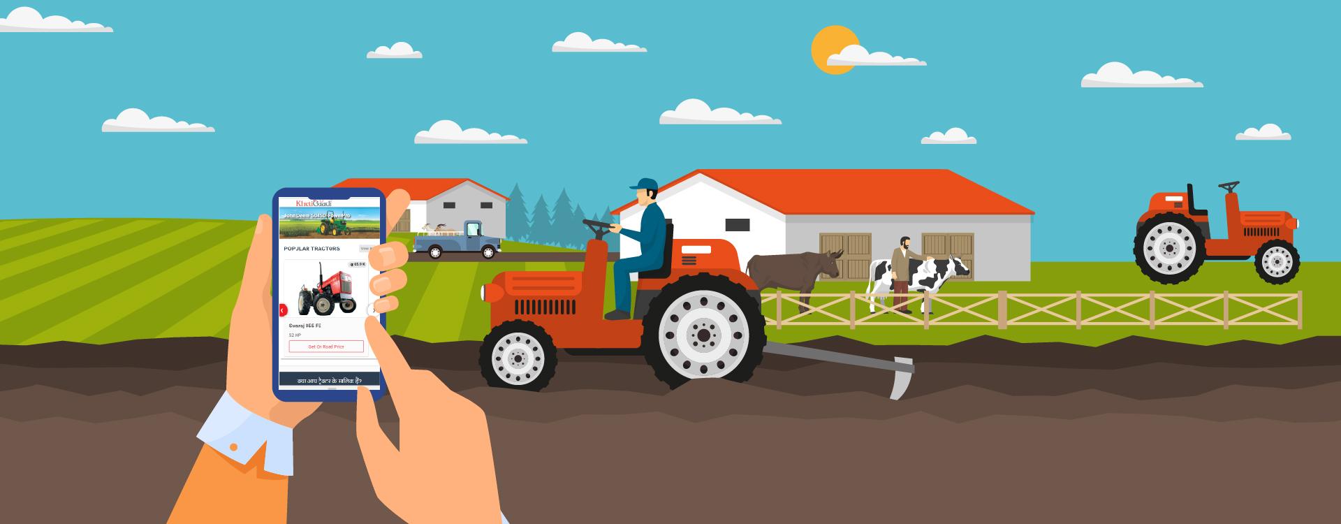 KhetiGaadi: Taking Farm Machinery to a Simple Click