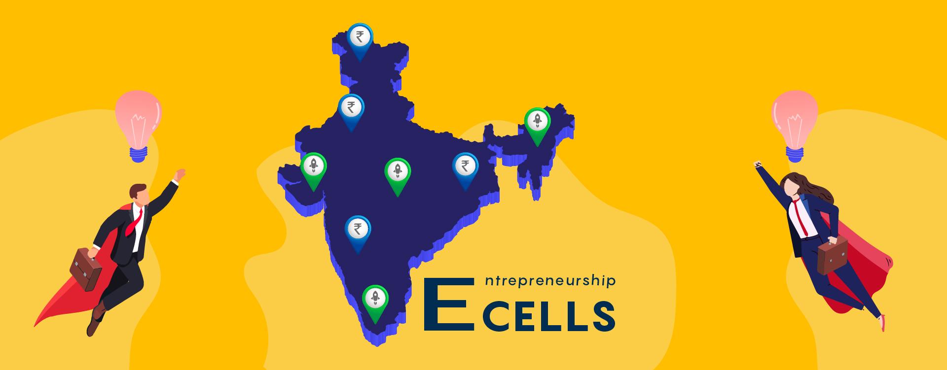 E-cells in India - successful start-ups