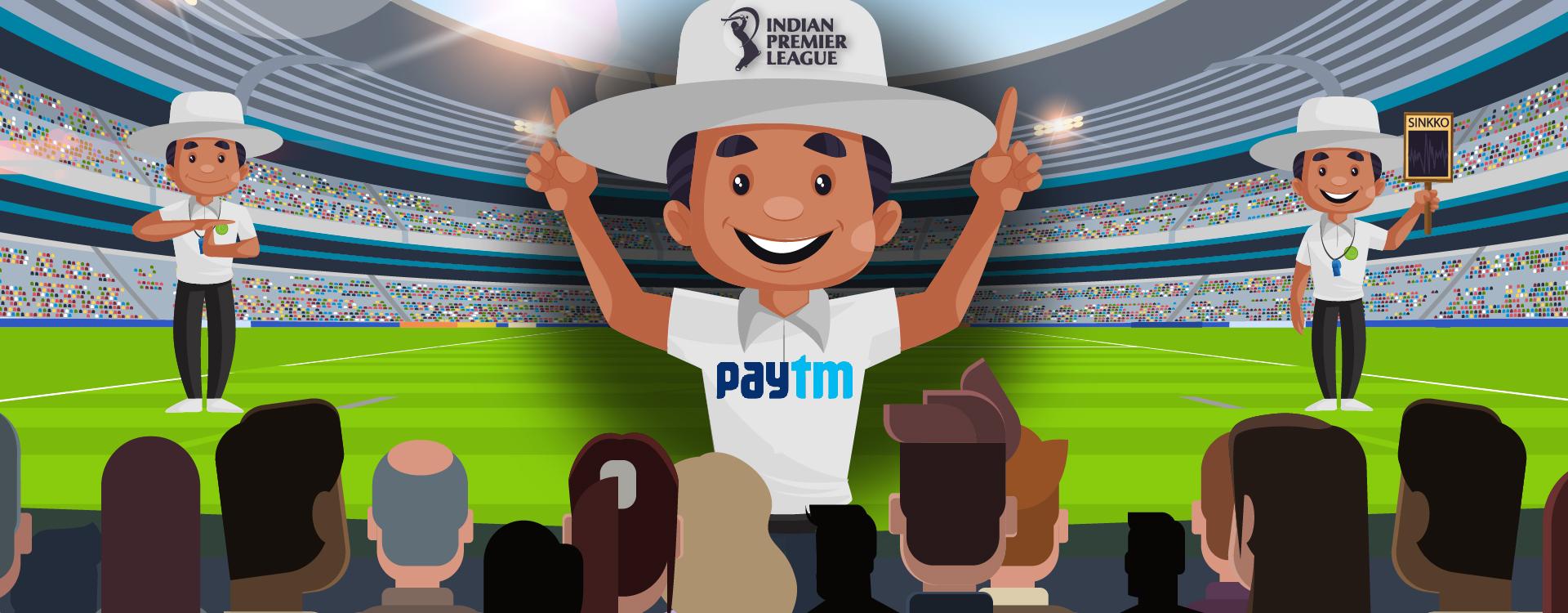 India's Number 1 Unicorn Paytm is IPL's Umpire Partner