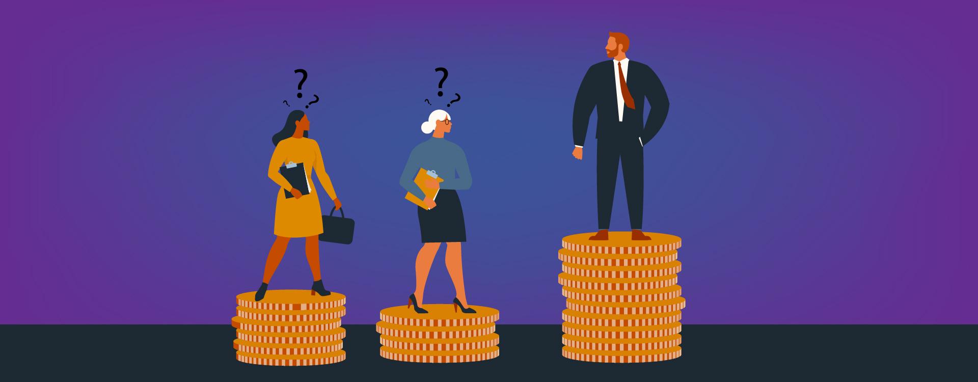 Wage gap between men and women in India