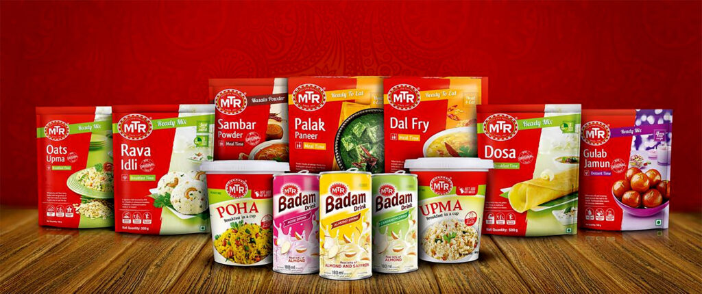 MTR Foods success story 2021
