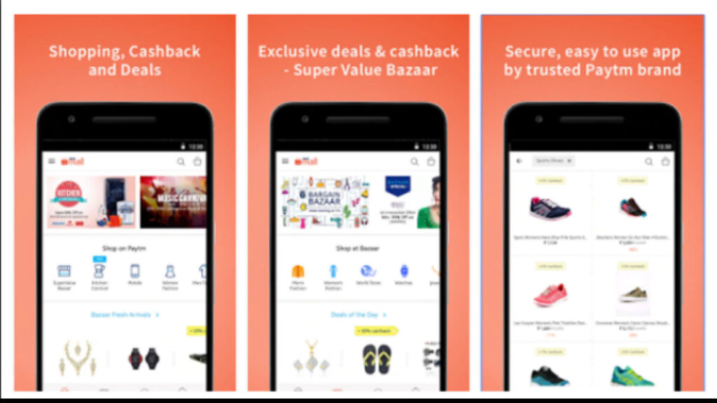 Features of Paytm Mall