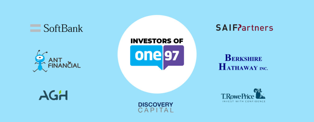 Investors of One97, Paytm's parent company