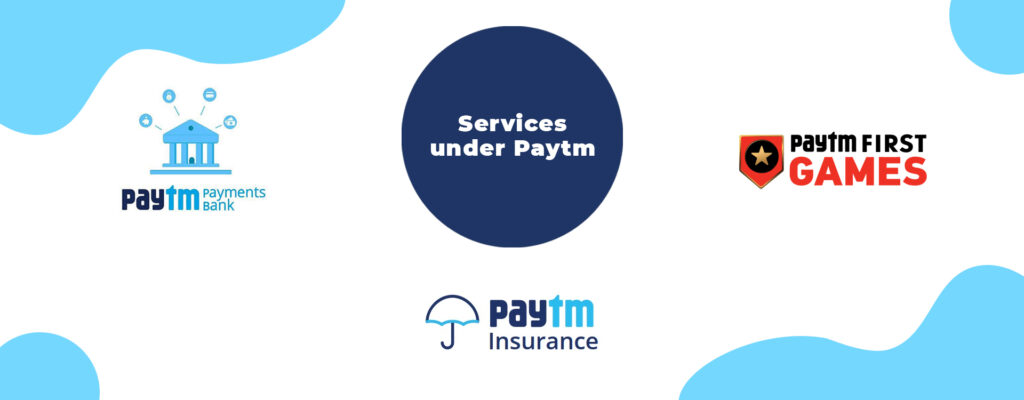 services offered by Paytm