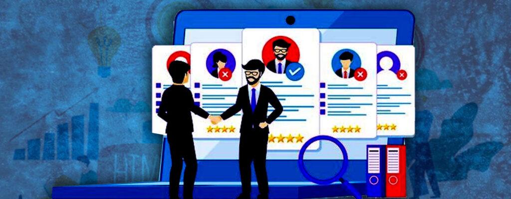 How do small businesses recruit