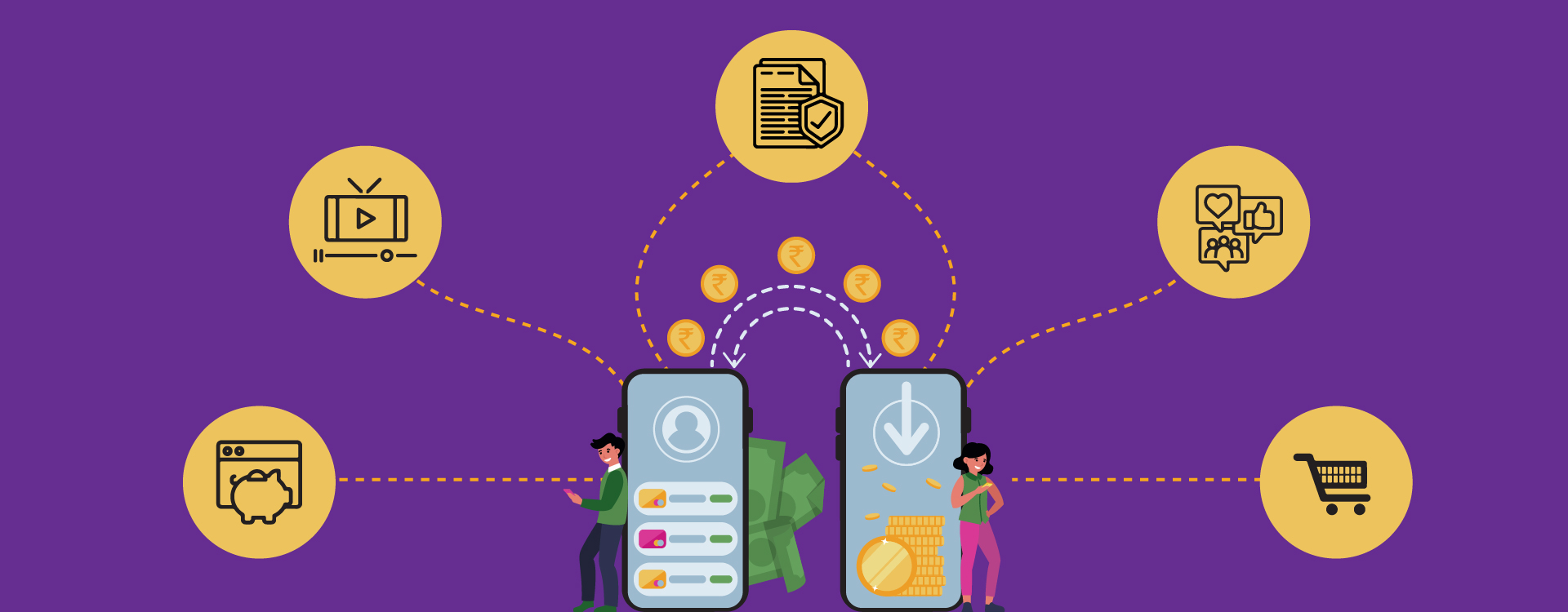 The new distribution channels for the fintech companies will be through collaborating with banks, OTT platforms, social and e-commerce.