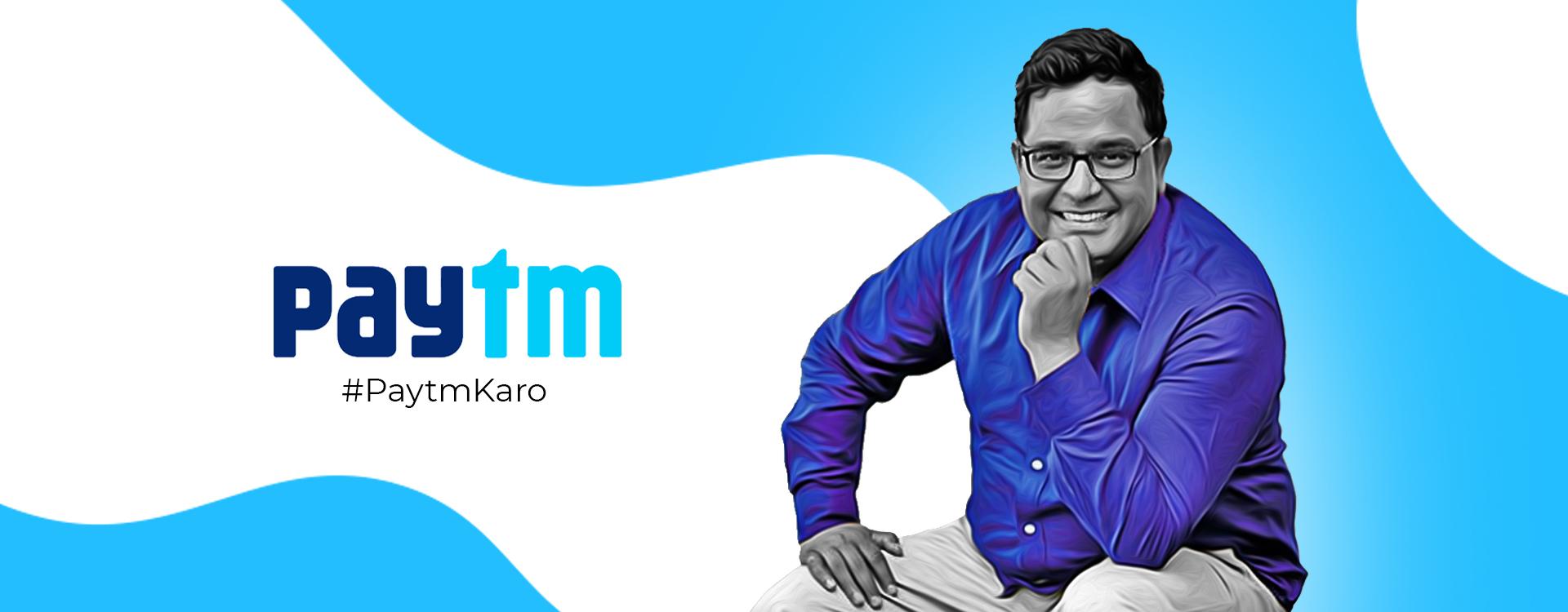 paytm's founder Vijay Shekhar Sharma