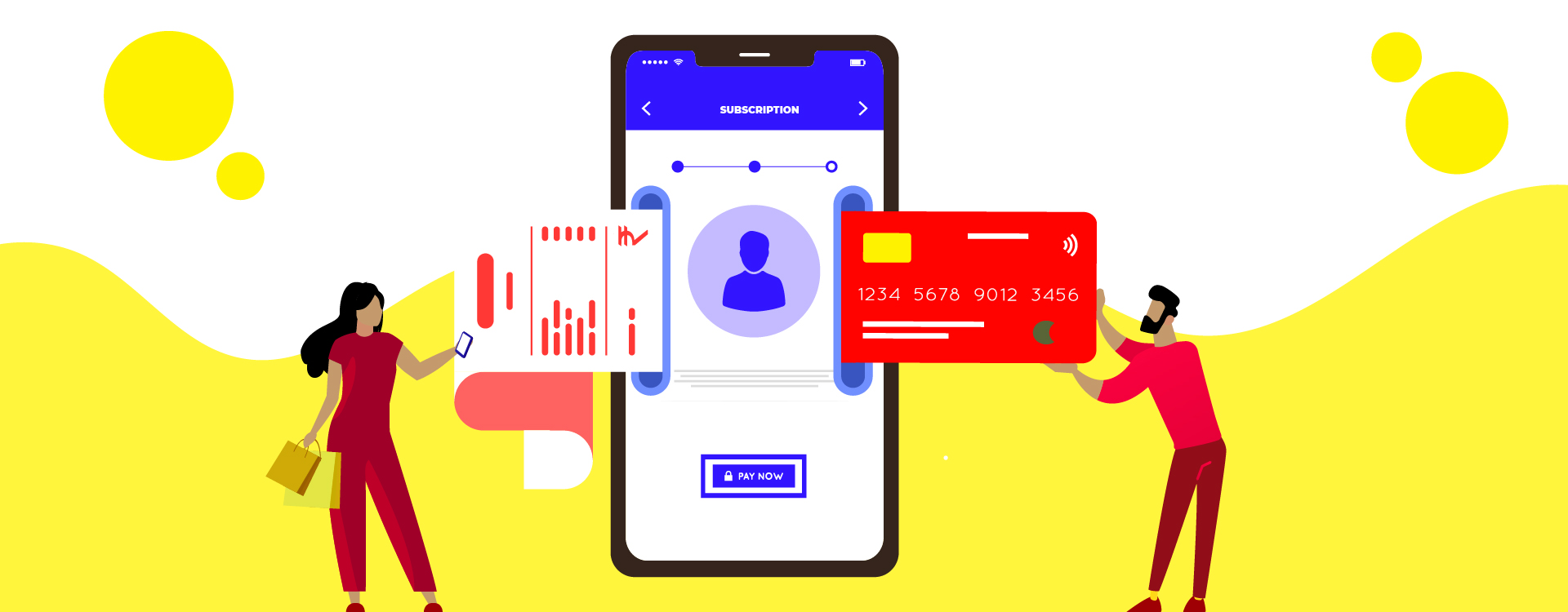 The subscription model is gaining popularity across various business verticals as it reduces the friction of customer again not going back for checkout.