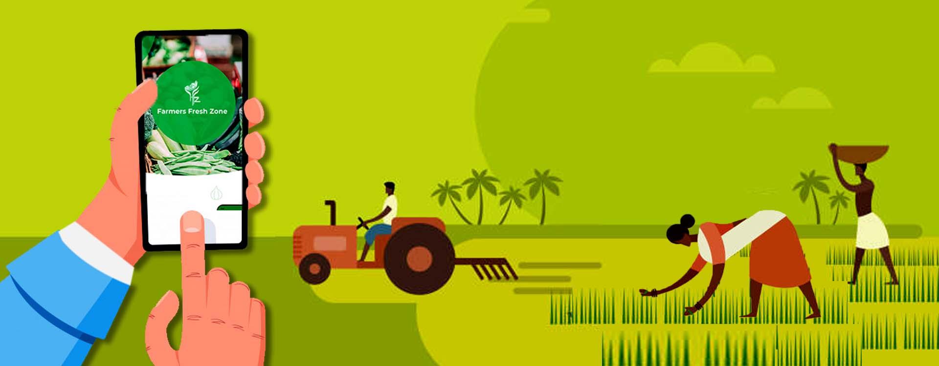 Agritech Startups like Farmersfz make farmers reach urban customers