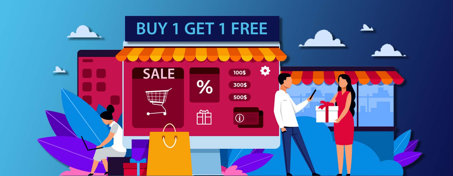 Buy One Give One Free BOGO Retail in India