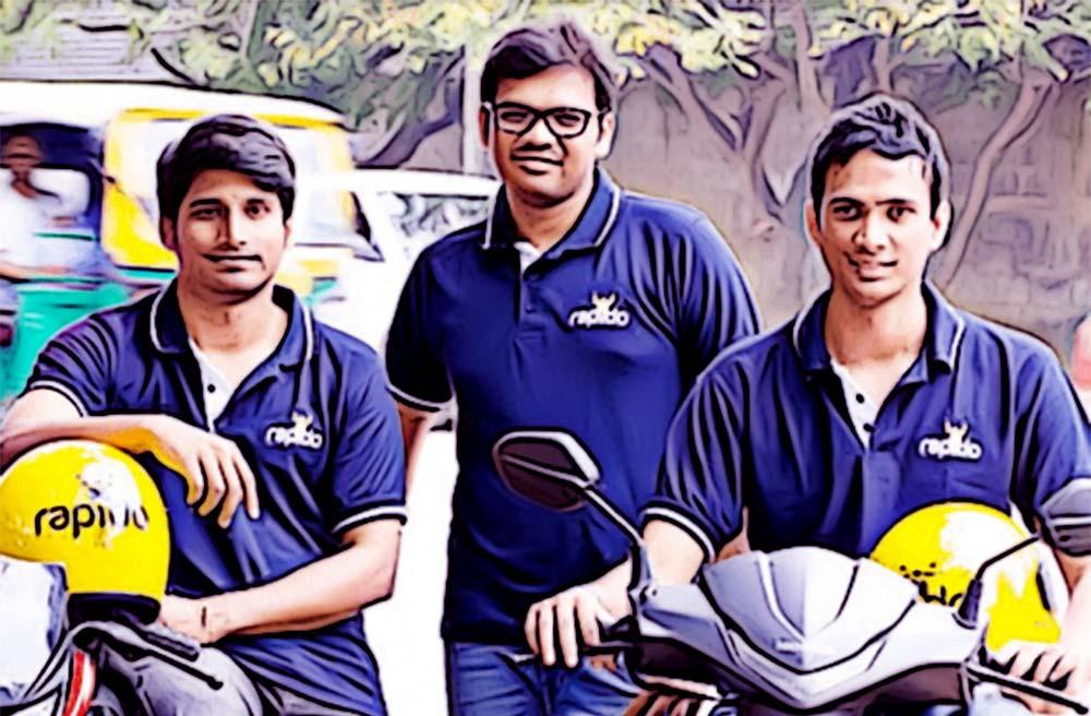 The Founders of Rapido: Pavan Guntupalli, Rishikesh SR, Aravind Sanka