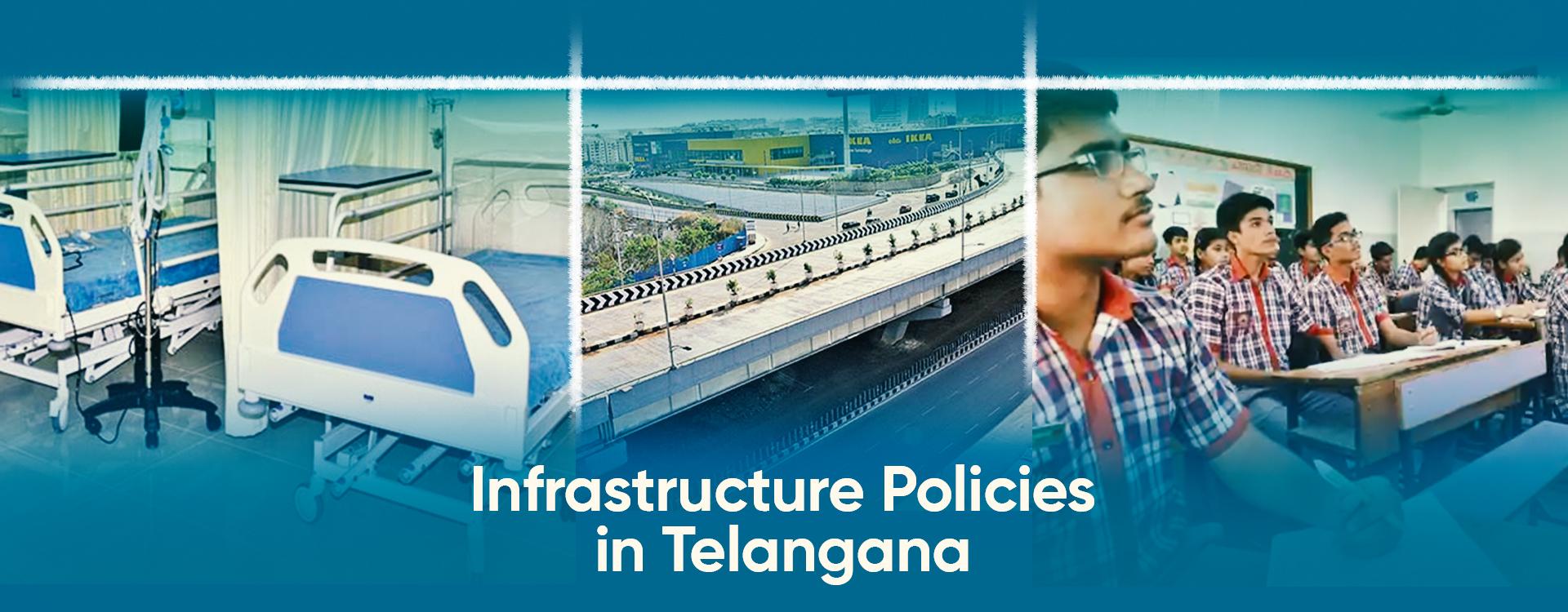Telangana GDP Infrastructure development policy