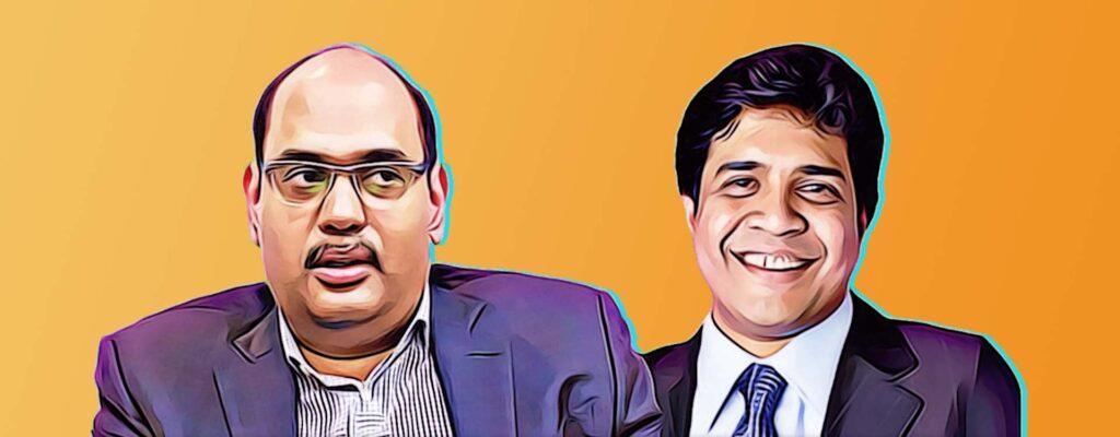 Greenko founders Anil Chalamalasetty and Mahesh Kolli.