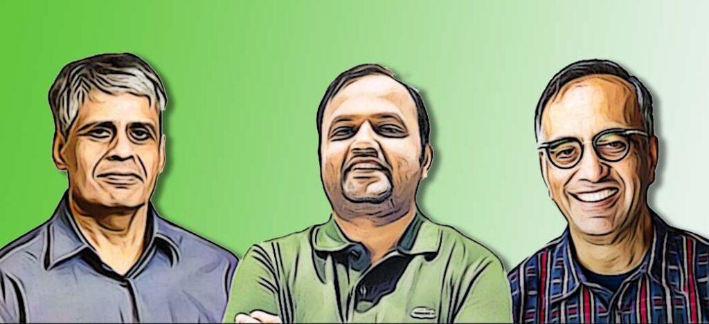 The Founders of Pine Labs: Lokvir Kapoor, Rajul Garg, Tarun Upaday