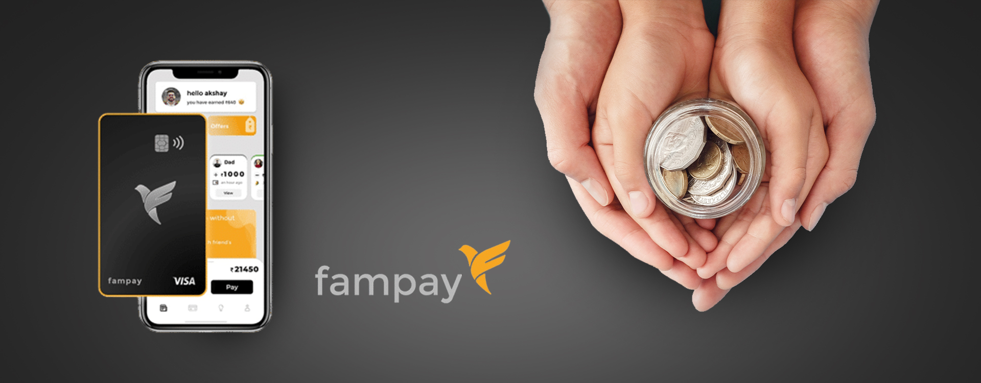 FamPay is a fintech statup that helps kids learn money management.