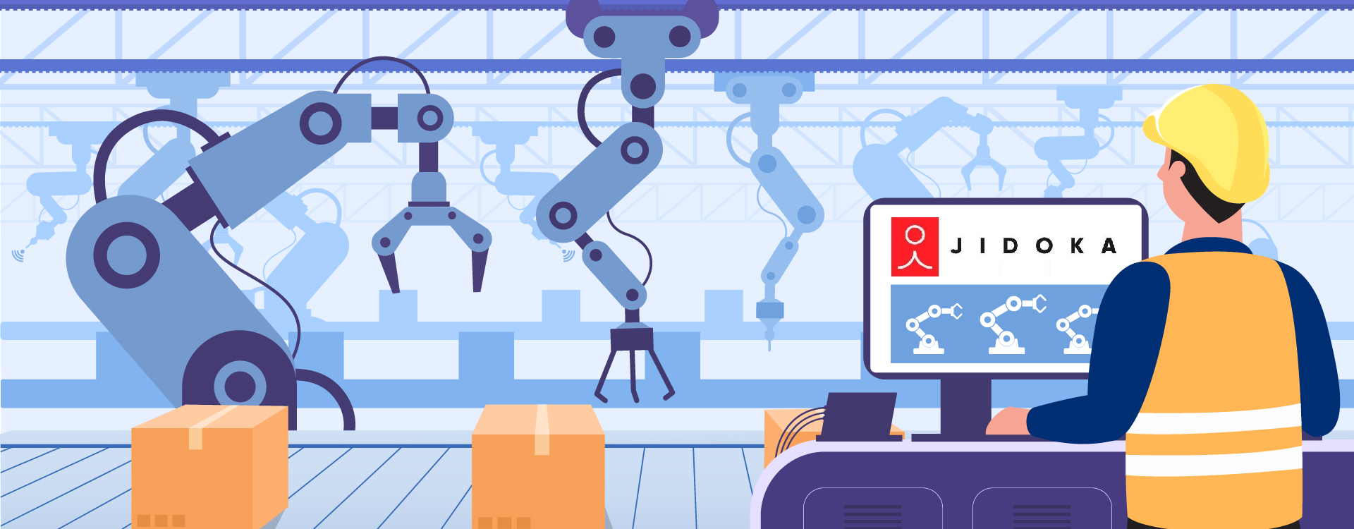 Jidoka offers automated quality control solutions in the manufacturing vertical by leveraging AI,ML and deep learning.