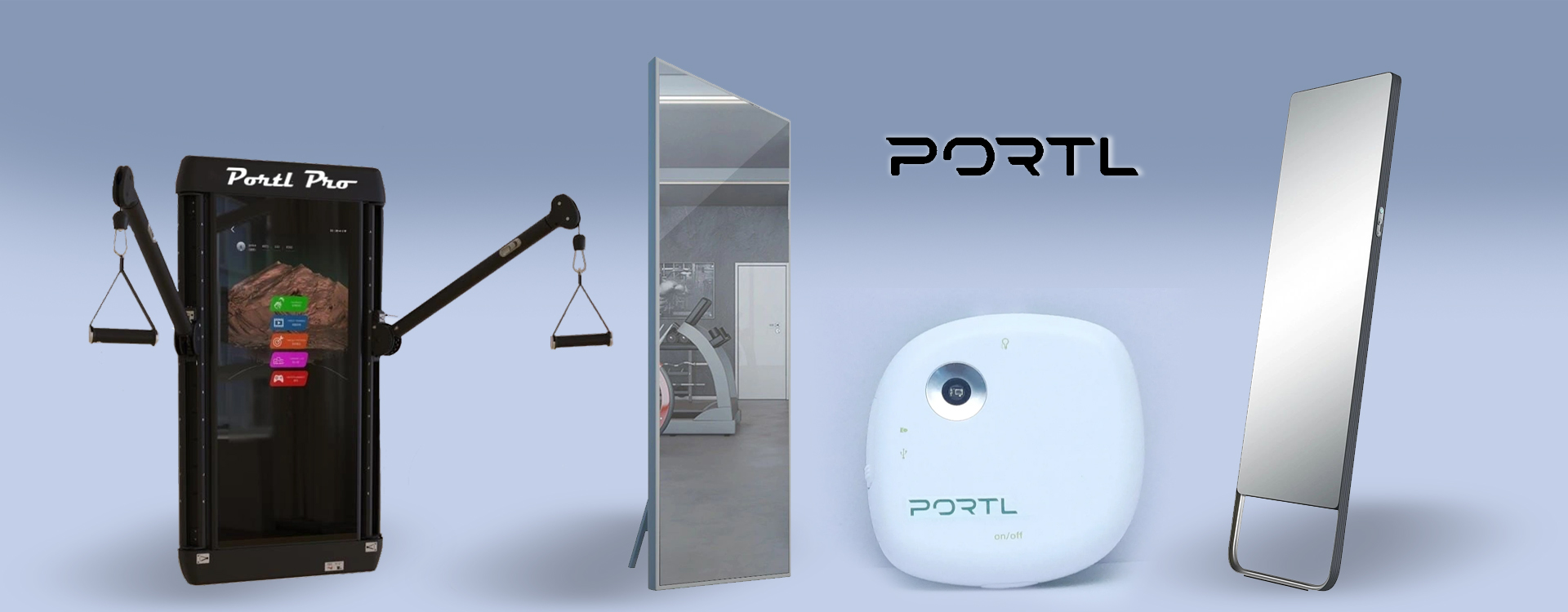Portl through its innovative products provides personalised home workouts.