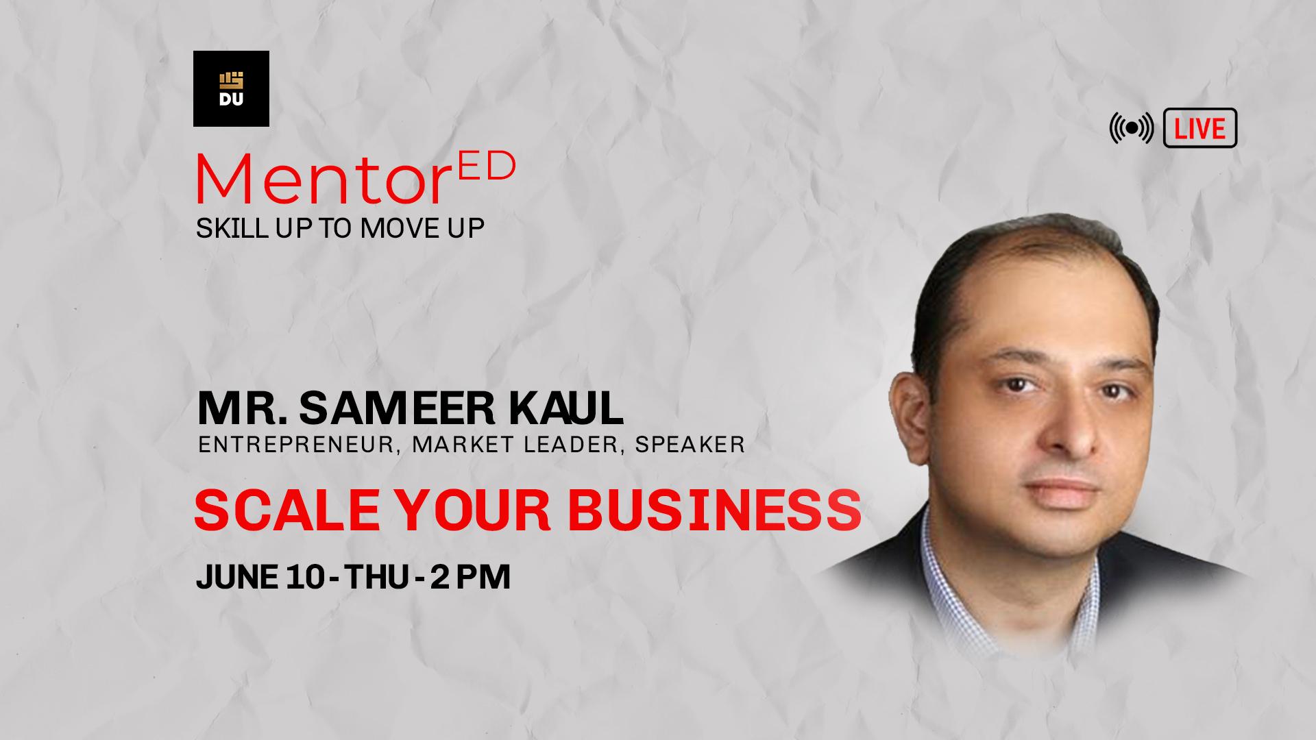 Get MentorEd by Sameer Kaul