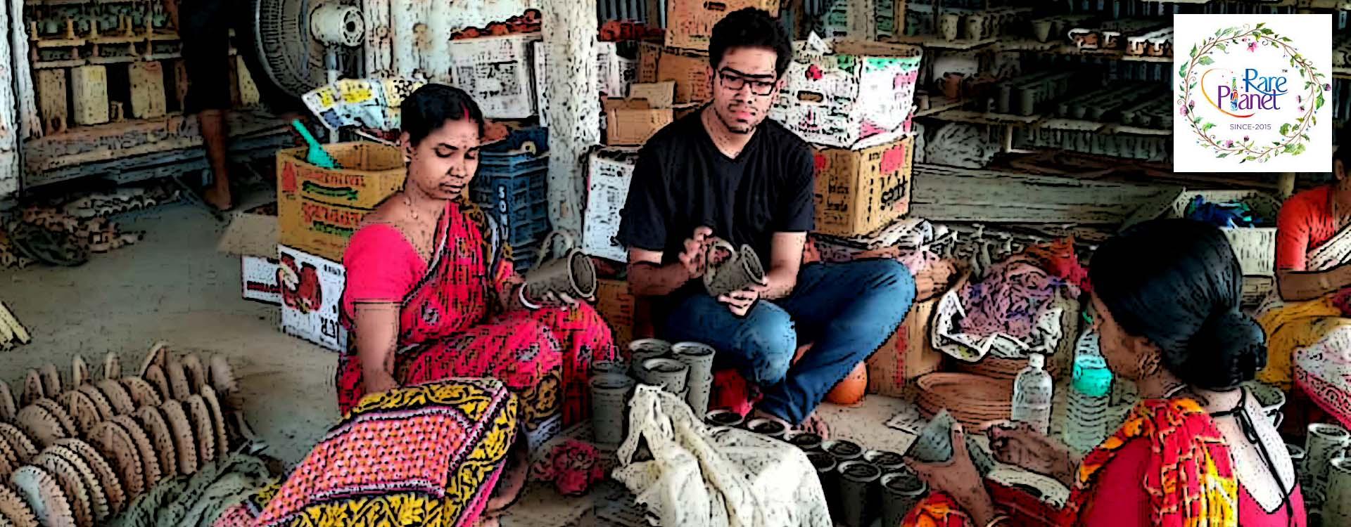 Rare Planet promoting Indian Handicrafts