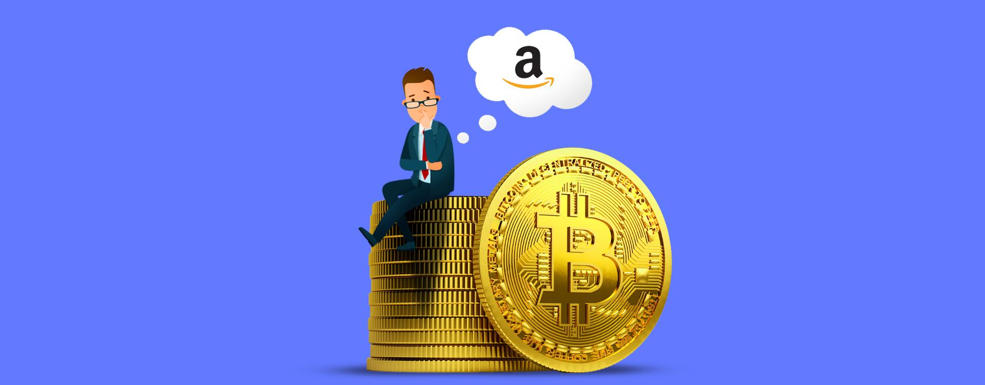 Amazon Bitcoin Cryptocurrency payment method India