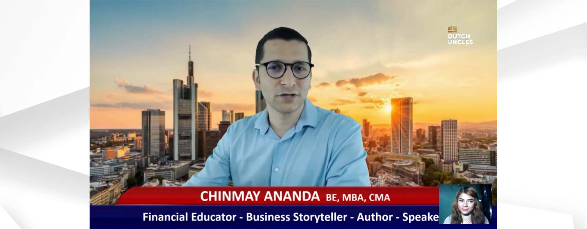 get mentorED with Chinmaya Ananda on Investors investment and funding