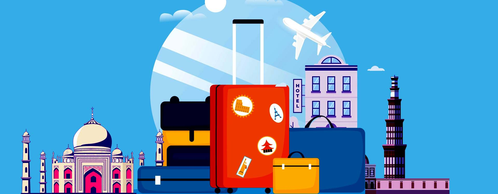 Domestic travel and hospitality sector is going through a tough time with rising cases in pandemic.
