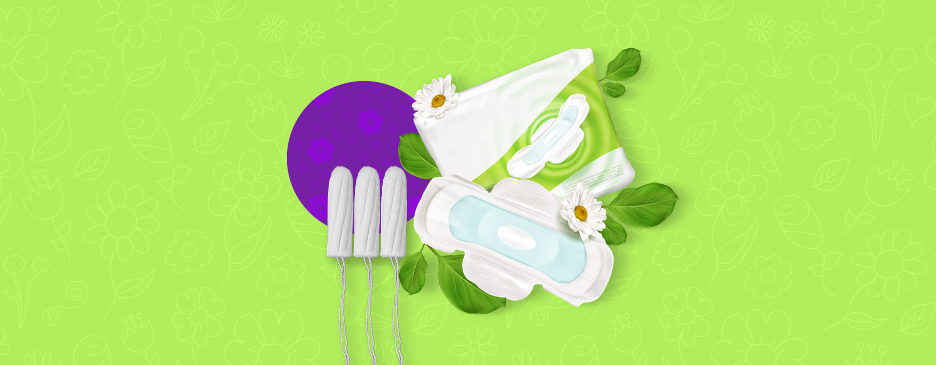 Heyday is making sanitary napkins made up of plant fibres.