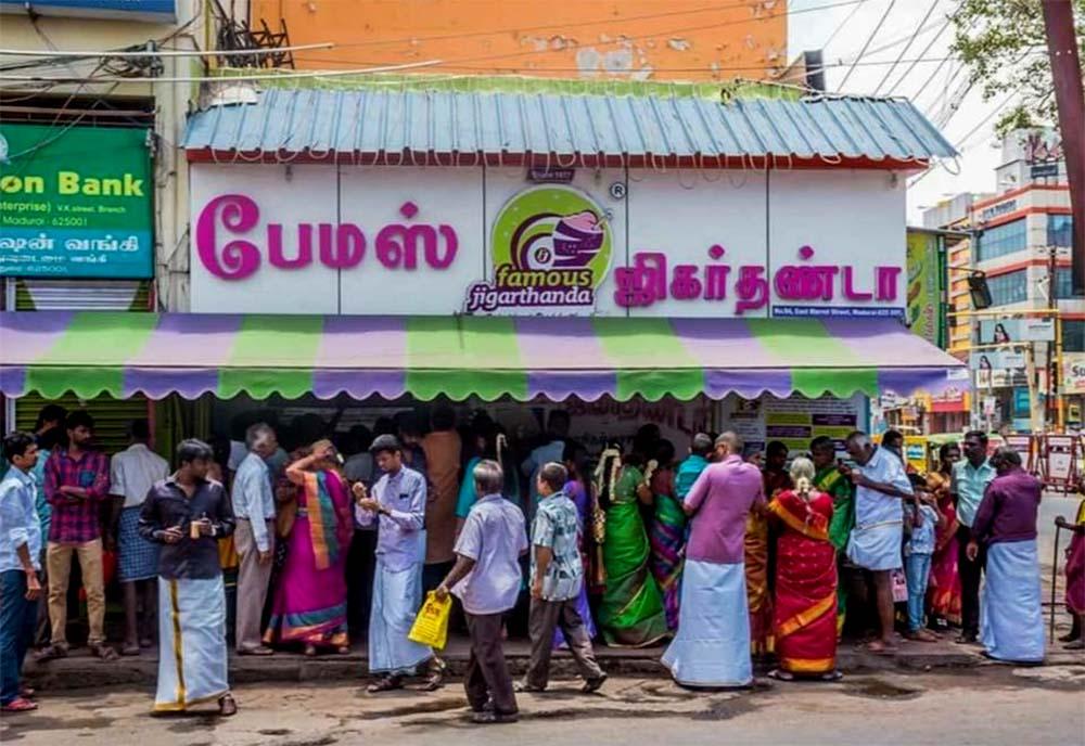 Jigarthanda Shop in Madurai