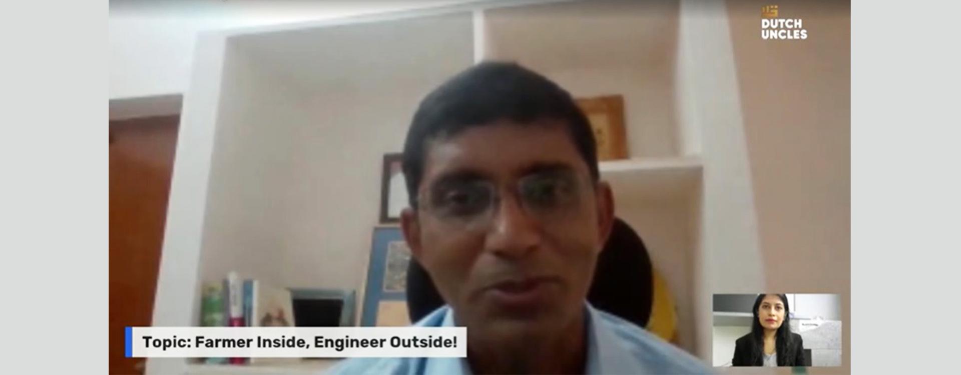 Interview With Mr. Kishore Indukuri on Dairy Farming