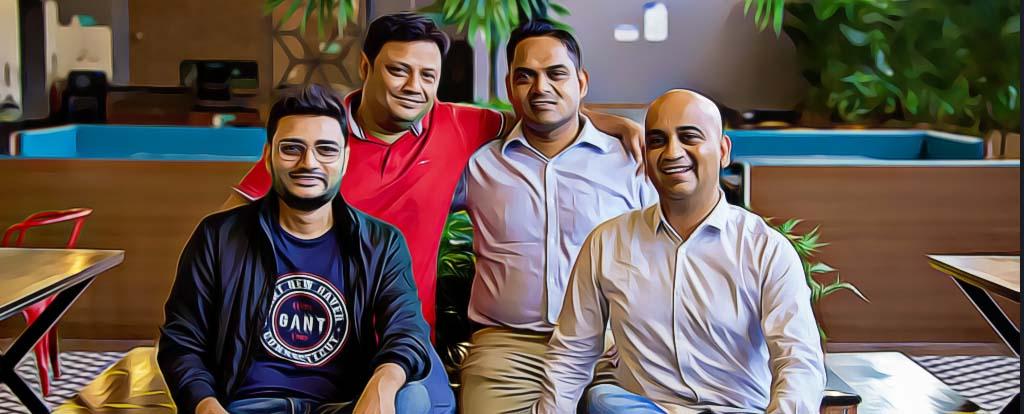 The Founders: Rajat Shikhar, Sankar Bora, Sourjyendu Medda, Vineet Rao