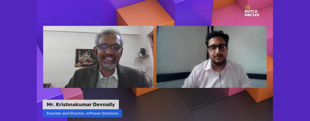Innerview Session with Mr. Krishnakumar Devnally