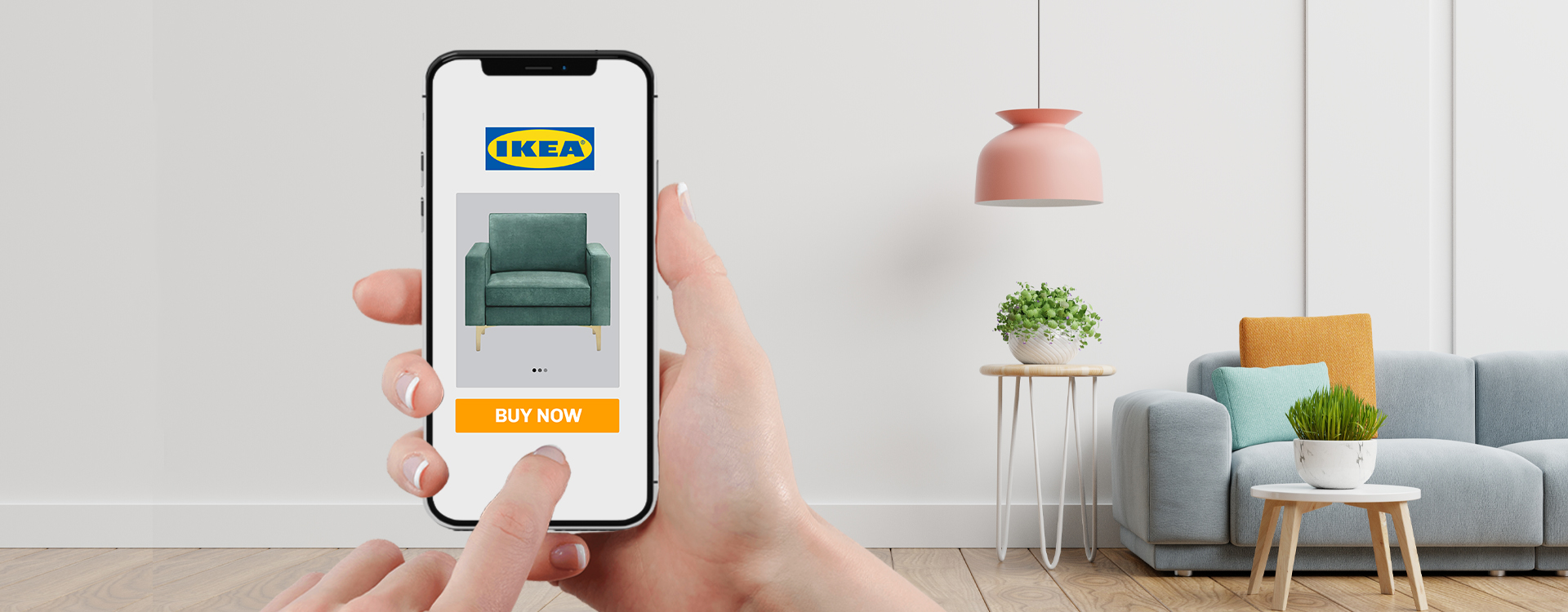 Ikea has launched its mobile app to allow customer purchase furniture online.